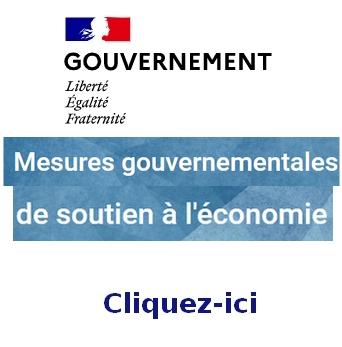 Mesures gouvernementales de soutien à l'économie